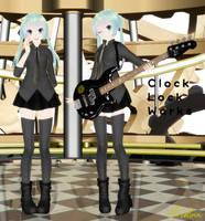 TDA Clock Lock Works Miku by Aisu-Aislinn