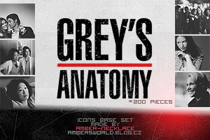 Icon bases feat. Greys Anatomy by amber-necklace