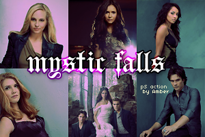 Mystic Falls PS action by amber-necklace