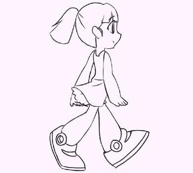Happy Roll animation