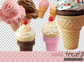 Cold Treats PNGS by hellotherelily