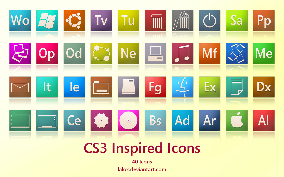 CS3 Inspired Icons by lalox