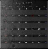 Shedual Calendar 1.2 by cybertiberium
