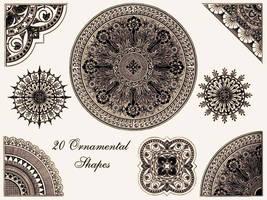 Ornamental Shapes - Brush Pack