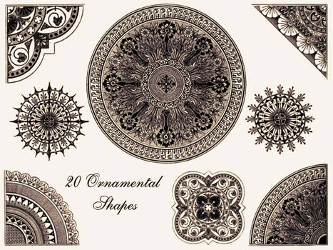 Ornamental Shapes - Brush Pack
