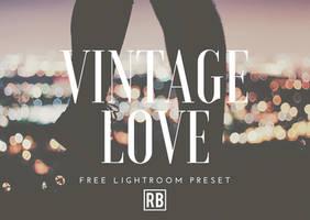 Vintage Love - Free Preset Download! by RetouchingBlog