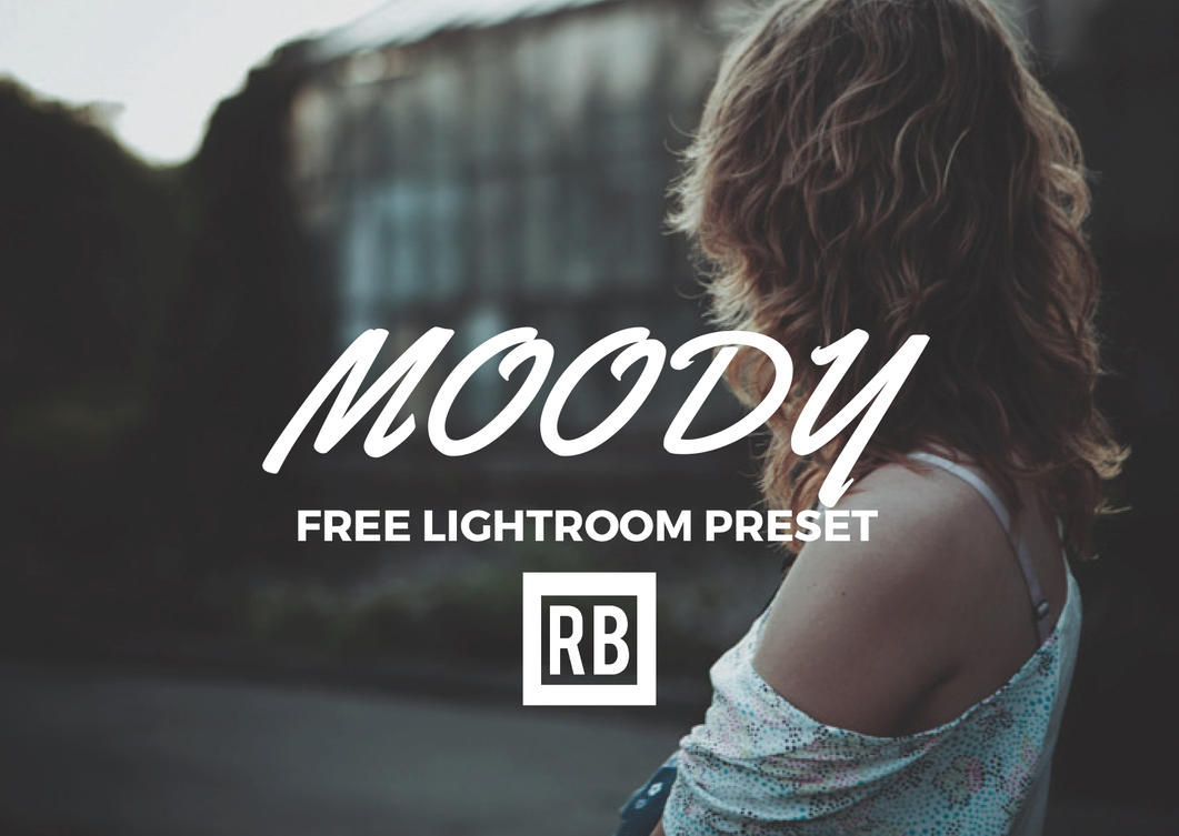 Free Lightroom Preset - Moody by RetouchingBlog