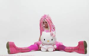 Wallpaper Kittygirl by hoschie