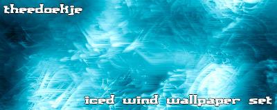 iced wind wallpaper by Theedoekje
