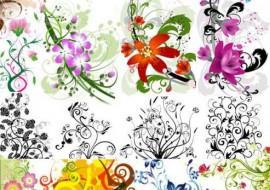 Foliage and Flowers Photoshop by GrzegorzEnemy