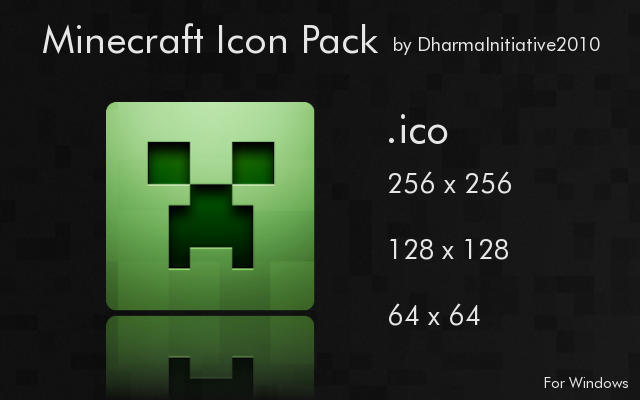 Minecraft Icon Pack by DharmaInitiative2010