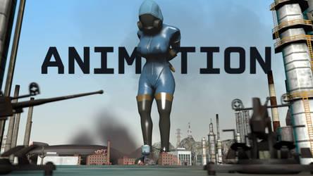 [s f m] Giantess female pyro animation by AnotherCrazySFMstuff