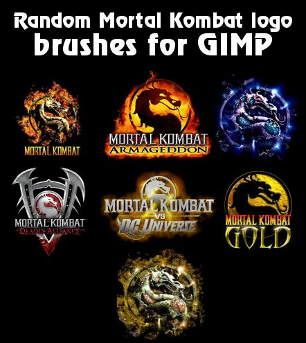 how to draw mortal kombat logo