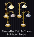 Furcadia Items - Antique Lamp [FREE]