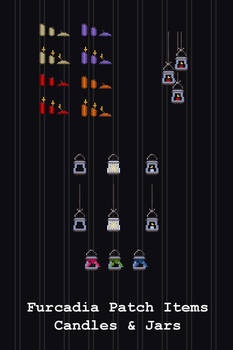 Furcadia Items - Candles and Jars