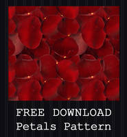 FREE DOWNLOAD - Rose Petals Pattern by PointyHat