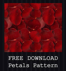 FREE DOWNLOAD - Rose Petals Pattern