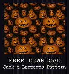 FREE DOWNLOAD - Jack-o-Lanterns