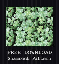FREE DOWNLOAD - Shamrock Pattern