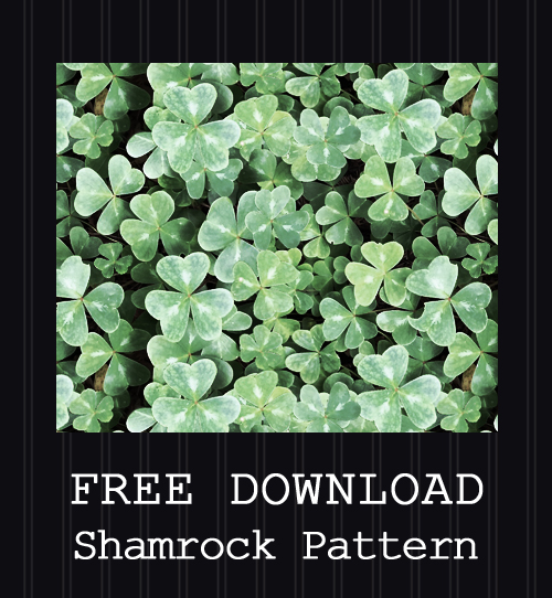 FREE DOWNLOAD - Shamrock Pattern by PointyHat
