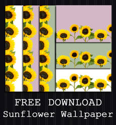 FREE DOWNLOAD - Sunflower Wallpaper