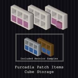 Furcadia Items - Cube Storage by PointyHat