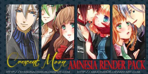 CM Amnesia Render pack