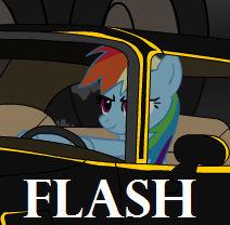 Dash and Pinkie Smuggle Apple Cider