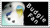 Budgie fan stamp by Gamma-Wings