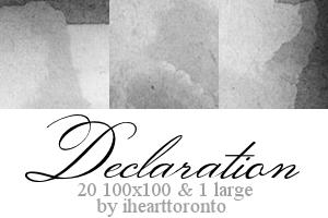 Declaration Textures by ihearttoronto