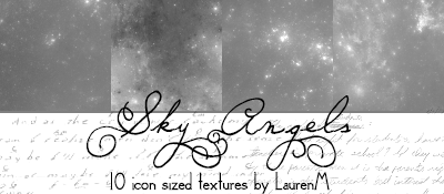 Sky Angels TEXTURES by ihearttoronto