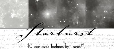 Starburst TEXTURES by ihearttoronto