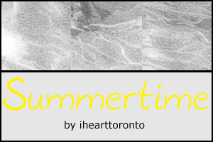 Summertime Textures by ihearttoronto