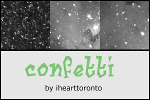 Confetti Textures by ihearttoronto