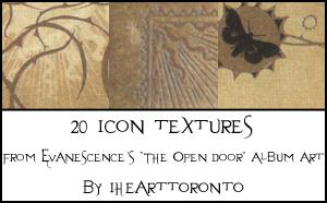 The Open Door icon textures by ihearttoronto