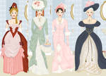 historical dressup game