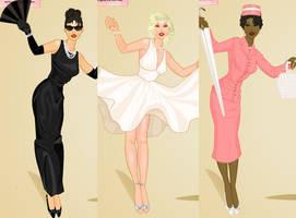 50's fashion dress up game by Pichichama