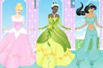 Famous princess dressup game