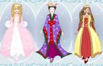 little princesse dress up game