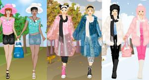 4Season BFF dress up