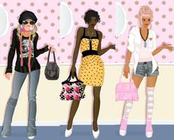 My closet dress up game by Pichichama