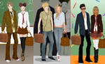 School couple2 dress up game