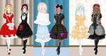 Lolita friends dress up game
