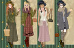 Mori girl fashion dress up