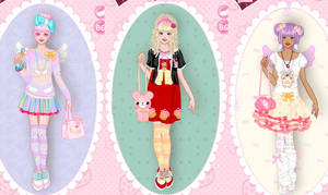 Fairy kei fashion dress up