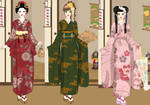 Kimono fashion dress up game