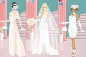 Spring bride dress up game by Pichichama