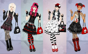 Punk Lolita dress up game