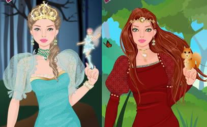Magical princess makeover game by Pichichama
