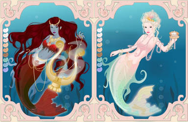 Beautiful mermaid dressup game by Pichichama